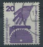 Sellos del Mundo : Europa : Alemania : Scott 9N318 - Riesgos Laborales