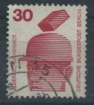 Sellos del Mundo : Europa : Alemania : Scott 9N320 - Riesgos Laborales