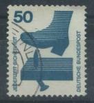 Sellos del Mundo : Europa : Alemania : Scott 1080 - Riesgos Laborales