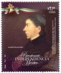 Stamps Mexico -  Bicentenario de la Independencia de México