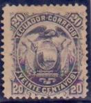 Sellos de America - Ecuador -  Escudo de Armas