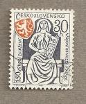 Stamps Czechoslovakia -  150 Aniv. Museo Praga