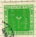 Stamps China -  Serie de la infancia