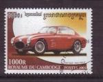 Sellos de Asia - Camboya -  serie- vehículos