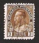 Sellos de America - Canadá -  110 - george V