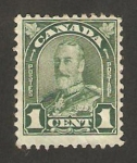 Stamps Canada -  141 - george V