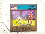 Stamps United Arab Emirates -  AJMAN - Apollo 14