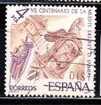 Sellos de Europa - España -  E2397 CENT. MUERTE DE JAIME I (151)