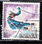 Sellos de Europa - España -  E2408 DEPORTES Copa del mundo de esquí (152)