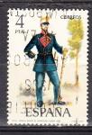 Sellos de Europa - España -  E2384 UNIFORMES MILITARES (159)