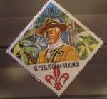 Stamps Africa - Burundi -  scout