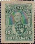 Stamps Ecuador -  Presidente Juan José Flores
