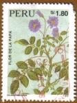 Stamps America - Peru -  FLOR DE LA PAPA