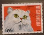 Sellos de America - Nicaragua -  chinchilla