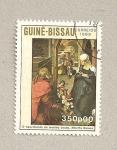 Stamps Guinea Bissau -  Nacimiento niño Jesús