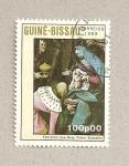 Sellos de Africa - Guinea Bissau -  Adoración de los Reyes