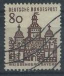 Sellos del Mundo : Europa : Alemania : Scott 912 - Edificios alemanes en 12 Siglos.
