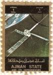 Sellos de Asia - Emiratos Árabes Unidos -  AJMAN - Espacio 3