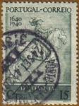 Stamps Europe - Portugal -  Estatua Equestre D. JUAN IV