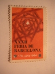 Sellos del Mundo : Europa : España : XXXII feria de barcelona
