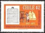 Sellos de America - Chile -  SESQUICENTENARIO DE EL MERCURIO DE VALPARAISO