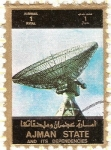Stamps United Arab Emirates -  AJMAN - Espacio 8