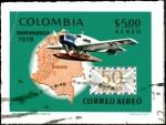 Sellos de America - Colombia -  SELLO CON IMPERFECCIÓN