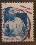 Sellos de Europa - Holanda -  misdeelde