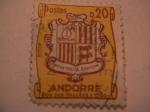 Stamps Europe - Andorra -  ecu des vallees-1780-
