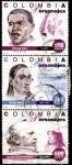 Sellos del Mundo : America : Colombia : SERIE PERSONAJES