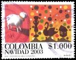 Sellos del Mundo : America : Colombia : EMISIÓN POSTAL NAVIDAD 2003