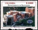 Sellos de America - Colombia -  EMISIÓN POSTAL DEPARTAMENTOS DE COLOMBIA - SANTANDER