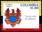 Sellos de America - Colombia -  EMISIÓN POSTAL HOMENAJE A LAS FUERZASMILITARES Y LACONMEMORACION DE SU PARTICIPACION EN LA GUERRA DE