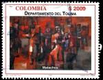 Sellos del Mundo : America : Colombia : EMISIÓN POSTAL SERIES DEPARTAMENTOS DE COLOMBIA - TOLIMA