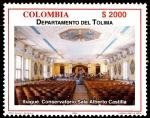 Sellos de America - Colombia -  EMISIÓN POSTAL SERIES DEPARTAMENTOS DE COLOMBIA - TOLIMA