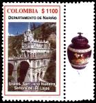 Sellos de America - Colombia -  EMISIÓN POSTAL SERIES DEPARTAMENTOS DE COLOMBIA - NARIÑO
