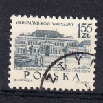 Sellos de Europa - Polonia -  TEATRO NARODOWY