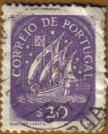 Stamps : Europe : Portugal :  CARAVELA