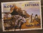Sellos de Africa - Eritrea -  eritrea railway