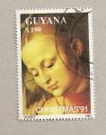 Sellos del Mundo : America : Guyana : Cuadro de Durero
