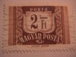 Sellos de Europa - Hungría -  portó