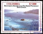 Sellos de America - Colombia -  EMISIÓN POSTAL DEPARTAMENTOS DE COLOMBIA - ARCHIPIELAGO DE SAN ANDRES, PROVIDENCIA Y SANTA CATALINA