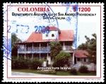 Sellos del Mundo : America : Colombia : EMISIÓN POSTAL DEPARTAMENTOS DE COLOMBIA - ARCHIPIELAGO DE SAN ANDRES, PROVIDENCIA Y SANTA CATALINA