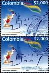 Sellos de America - Colombia -  EMISIÓN POSTAL XX JUEGOS DEPORTIVOS CENTROAMERICANOS Y DEL CARIBE