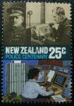 Sellos de Oceania - Nueva Zelanda -  Centenario de la Policia.