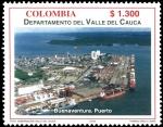 Sellos del Mundo : America : Colombia : EMISIÓN POSTAL DEPARTAMENTOS DE COLOMBIA - VALLE DEL CAUCA