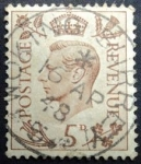 Sellos de Europa - Reino Unido -  King George VI