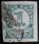 Stamps Europe - Spain -  Estado Español
