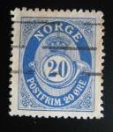 Sellos de Europa - Noruega -  Numeral