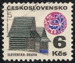 Sellos de Europa - Checoslovaquia -  Edificios y monumentos